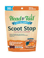 Head to Tail Scoot Stop for Dogs